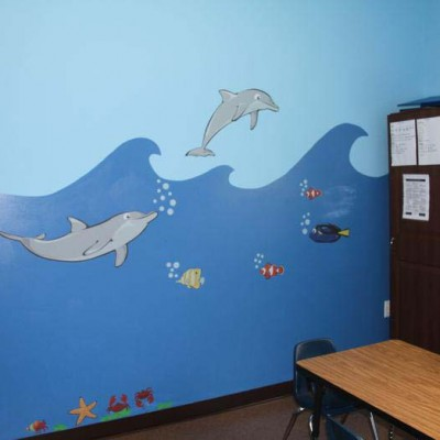 Clinic dolphin room